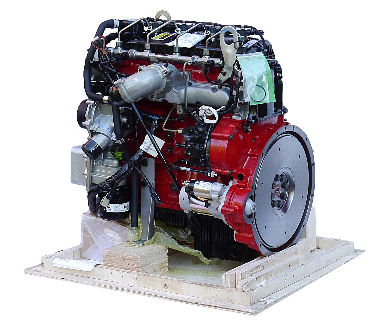 двигателя серии ISF