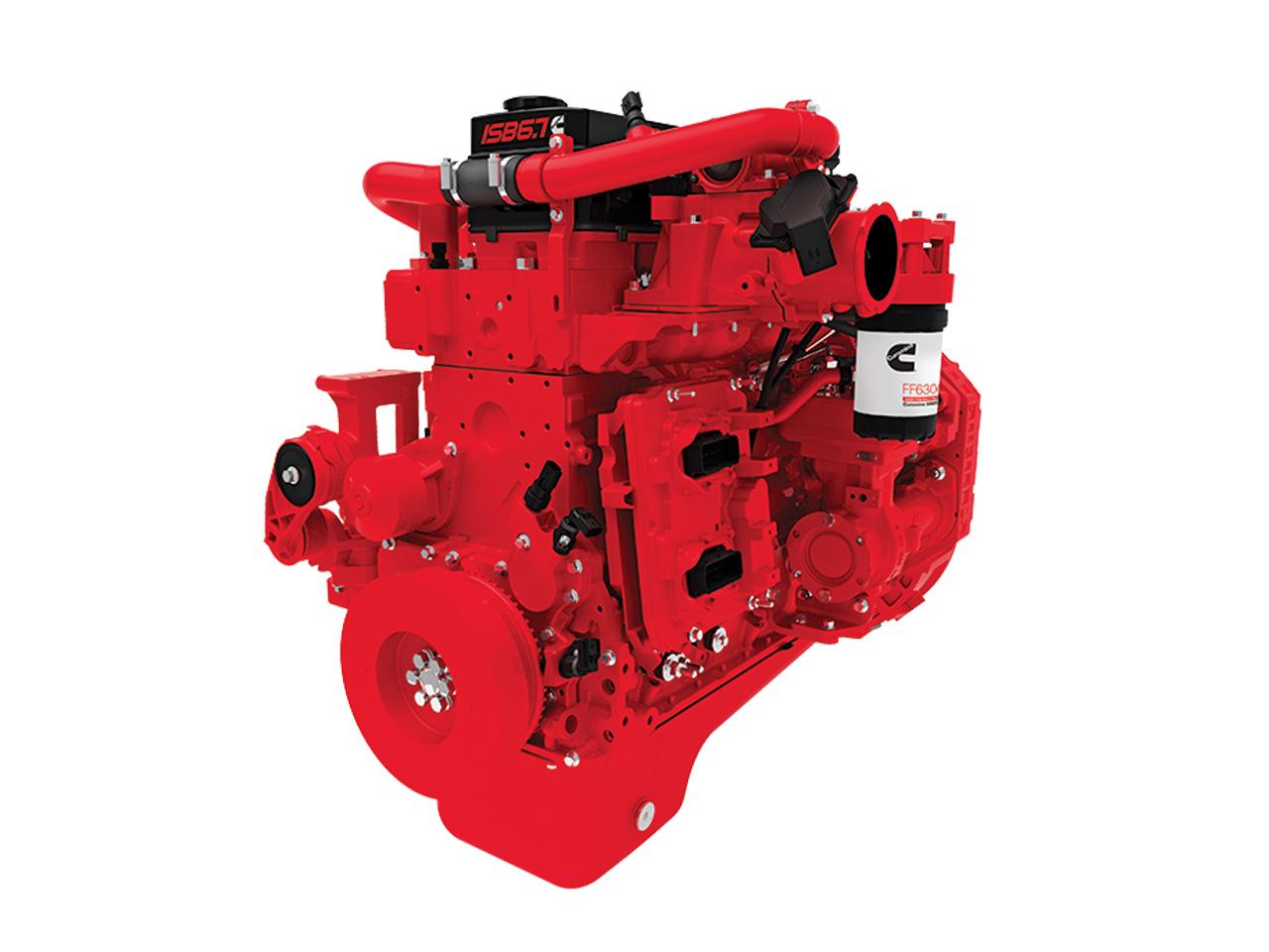 двигатели серии ISBe