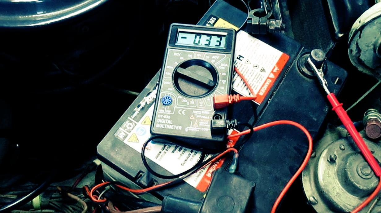проверка генератора в машине