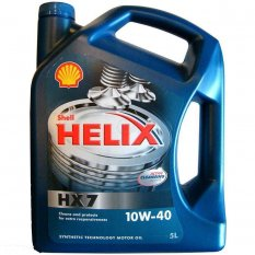 Моторное Масло Shell Helix Diesel HX7 10w40 5л Масла