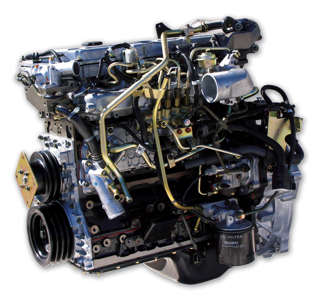 промышленные двигатели Исузу