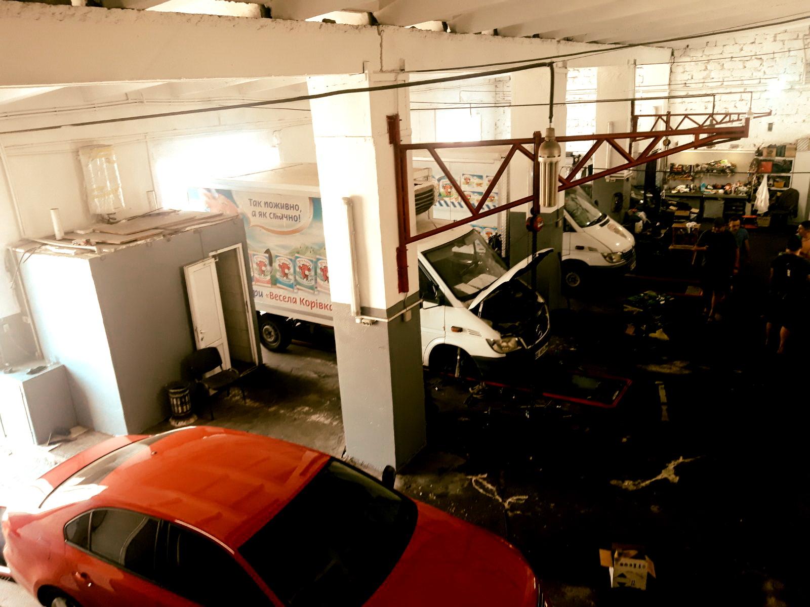 ремонт на станции техобслуживания